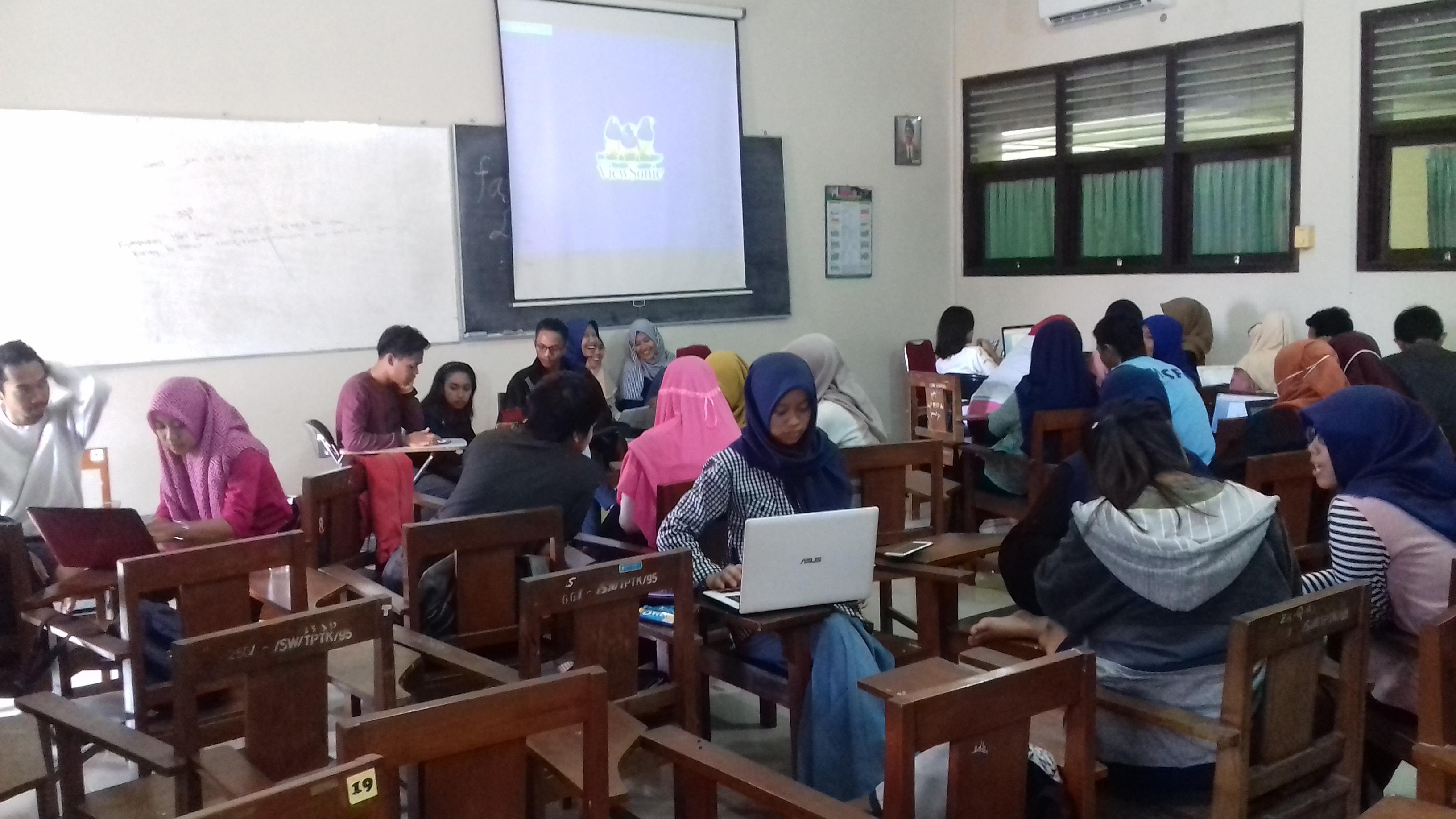 15 Kelompok PKM Mengikuti Klinik Proposal PKM Prodi Pendidikan Matematika FKIP UST Yogyakarta